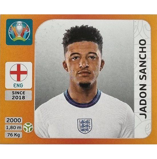 Panini EURO 2020 Sticker Nr 420 Jadon Sancho