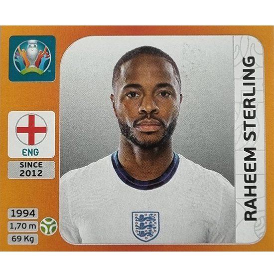 Panini EURO 2020 Sticker Nr 421 Raheem Sterling