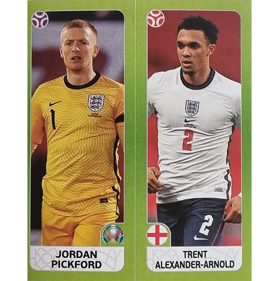 Panini EURO 2020 Sticker Nr 422 Pickford Alexander-Arnold