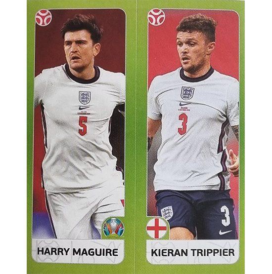 Panini EURO 2020 Sticker Nr 423 Maguire Trippier