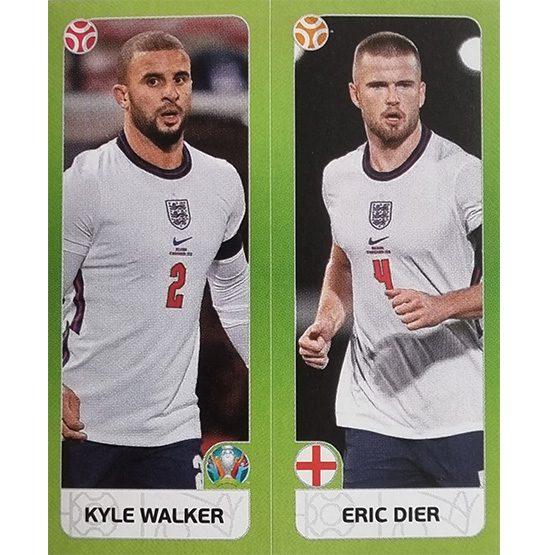 Panini EURO 2020 Sticker Nr 424 Walker Dier