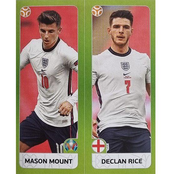 Panini EURO 2020 Sticker Nr 425 Mount Rice