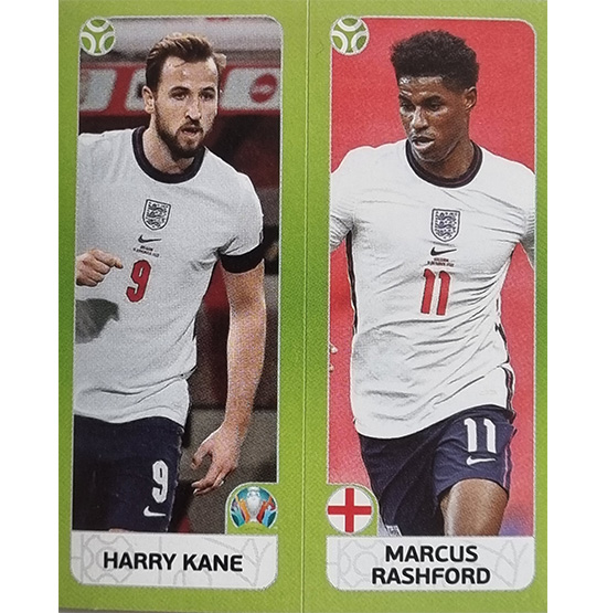 Panini EURO 2020 Sticker Nr 426 Kane Rashford