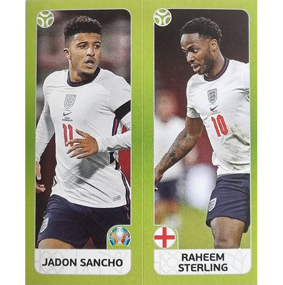 Panini EURO 2020 Sticker Nr 427 Sancho Sterling