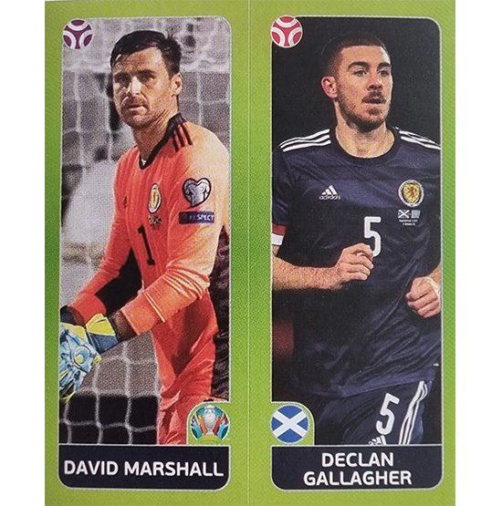 Panini EURO 2020 Sticker Nr 428 Marshall Gallagher