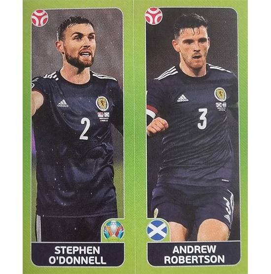Panini EURO 2020 Sticker Nr 429 O´Donnell Robertson