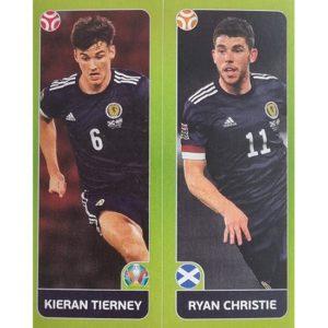 Panini EURO 2020 Sticker Nr 430 Tierney Christie