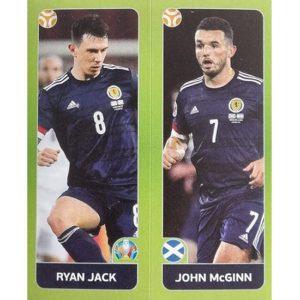 Panini EURO 2020 Sticker Nr 431 Jack McGinn