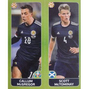 Panini EURO 2020 Sticker Nr 432 McGregor McTominay