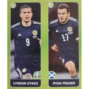 Panini EURO 2020 Sticker Nr 433 Dykes Fraser