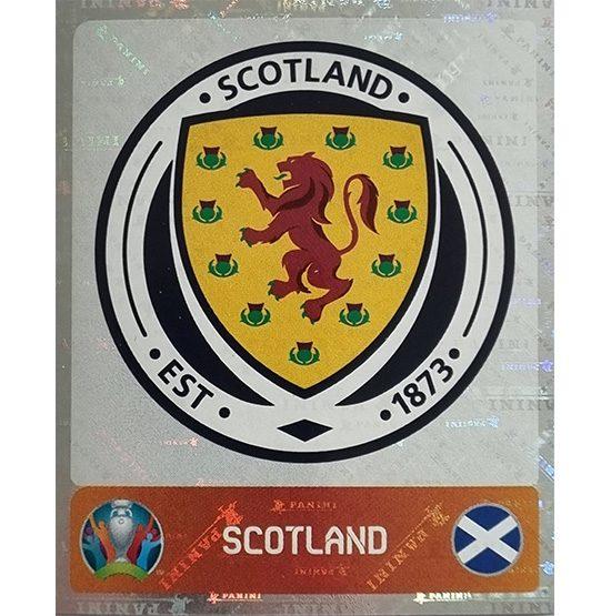 Panini EURO 2020 Sticker Nr 434 Scotland Logo
