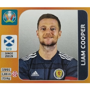Panini EURO 2020 Sticker Nr 437 Liam Cooper