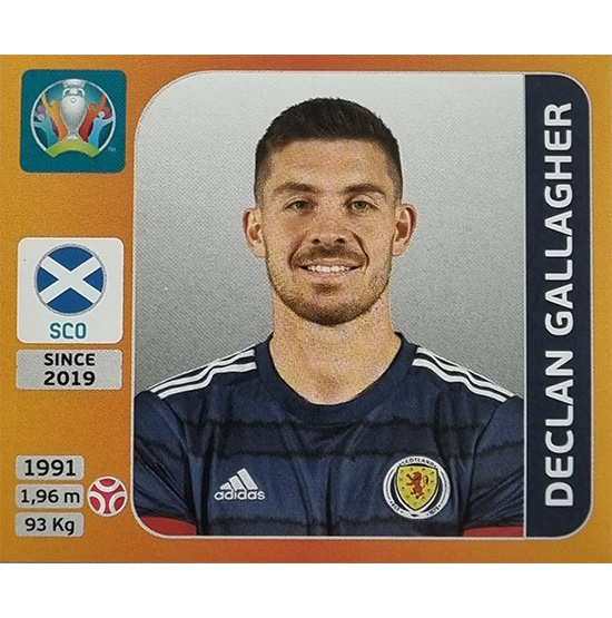 Panini EURO 2020 Sticker Nr 438 Declan Gallagher