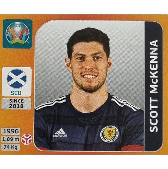 Panini EURO 2020 Sticker Nr 439 Scott McKenna