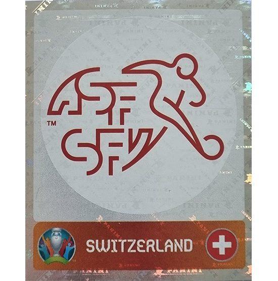 Panini EURO 2020 Sticker Nr 044 Switzerland Logo