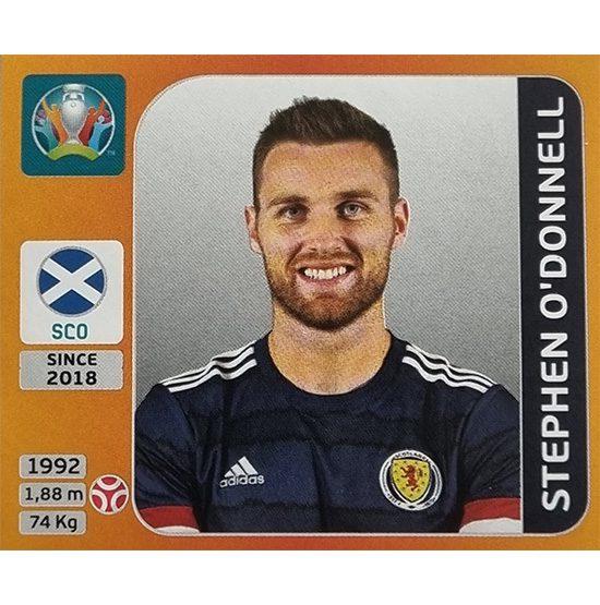 Panini EURO 2020 Sticker Nr 440 Stephen O´Donnell