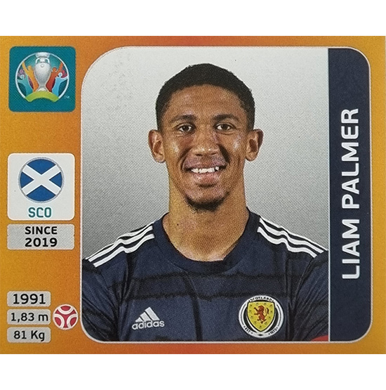 Panini EURO 2020 Sticker Nr 441 Liam Palmer