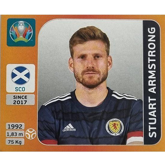 Panini EURO 2020 Sticker Nr 444 Stuart Armstrong