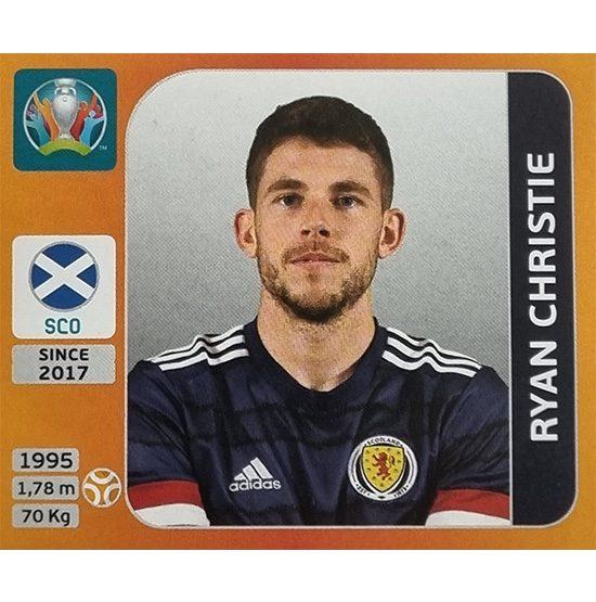Panini EURO 2020 Sticker Nr 445 Ryan Christie