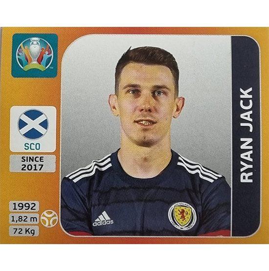 Panini EURO 2020 Sticker Nr 447 Ryan Jack
