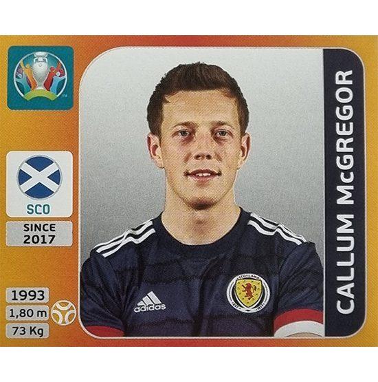 Panini EURO 2020 Sticker Nr 449 Callum McGregor
