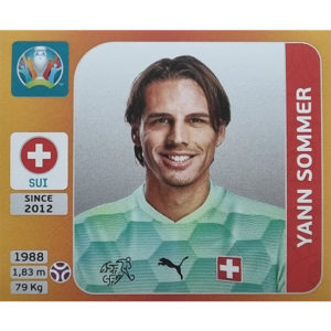 Panini EURO 2020 Sticker Nr 045 Yann Sommer