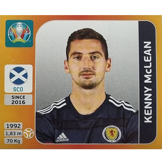 Panini EURO 2020 Sticker Nr 450 Kenny McLean