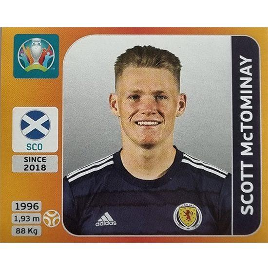 Panini EURO 2020 Sticker Nr 451 Scott McTominay