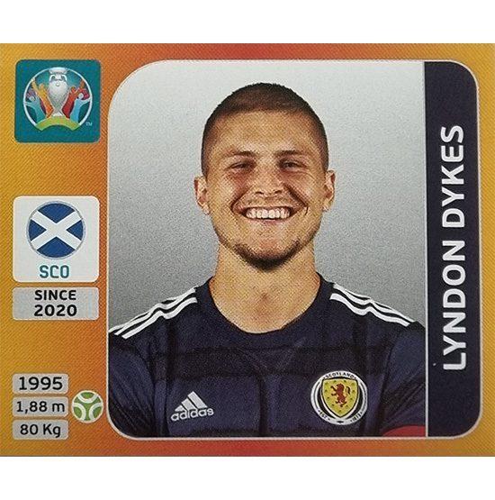Panini EURO 2020 Sticker Nr 452 Lyndon Dykes