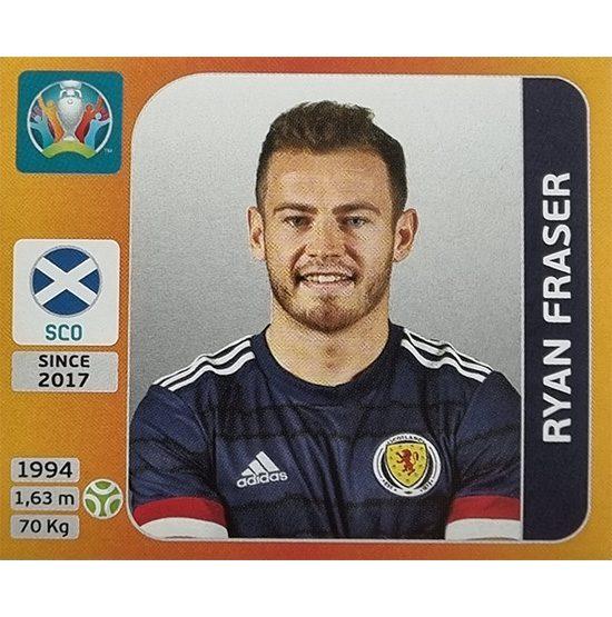 Panini EURO 2020 Sticker Nr 453 Ryan Fraser