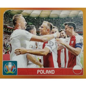 Panini EURO 2020 Sticker Nr 455 Poland