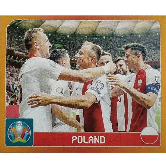Panini EURO 2020 Sticker Nr 455 Poland