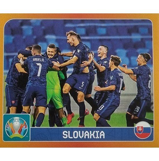 Panini EURO 2020 Sticker Nr 456 Slovakia