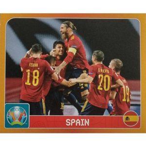 Panini EURO 2020 Sticker Nr 457 Spain