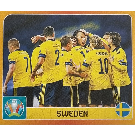 Panini EURO 2020 Sticker Nr 458 Sweden