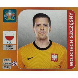 Panini EURO 2020 Sticker Nr 460 Wojciech Szczesny