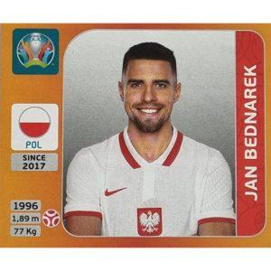 Panini EURO 2020 Sticker Nr 462 Jan Bednarek