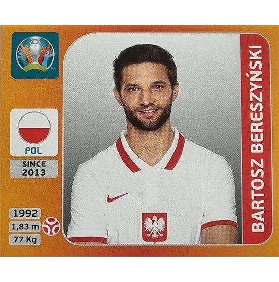 Panini EURO 2020 Sticker Nr 463 Bartosz Bereszynski