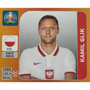 Panini EURO 2020 Sticker Nr 464 Kamil Glik