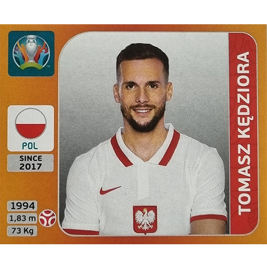 Panini EURO 2020 Sticker Nr 465 Tomasz Kedziora