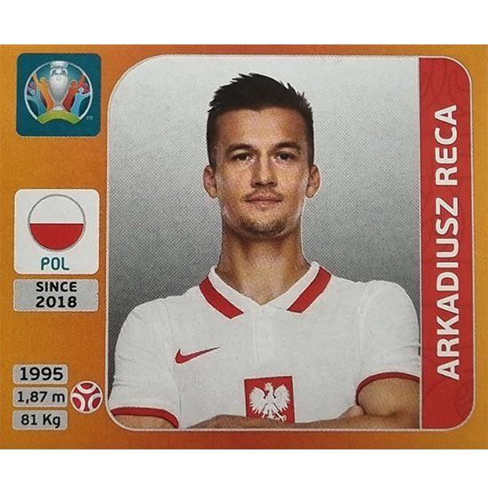 Panini EURO 2020 Sticker Nr 466 Arkadiusz Reca