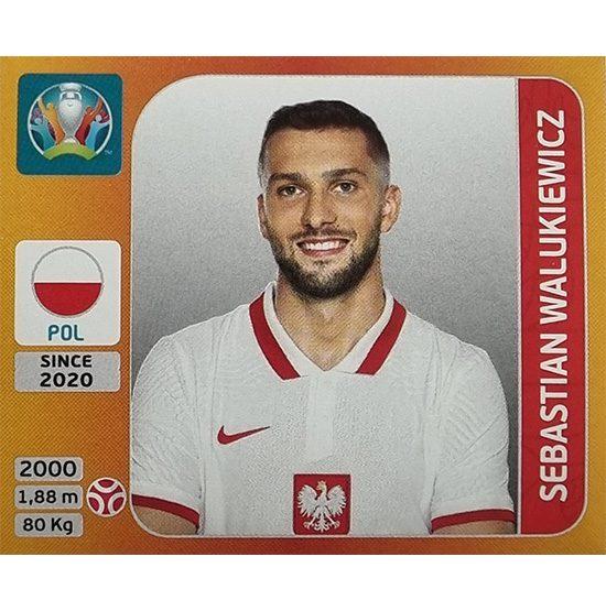 Panini EURO 2020 Sticker Nr 468 Sebastian Walukiewicz