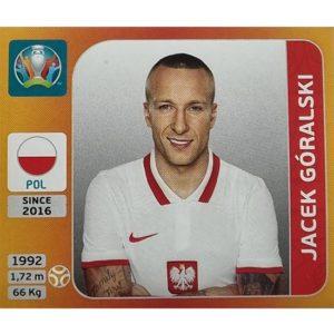 Panini EURO 2020 Sticker Nr 469 Jacek Goralski