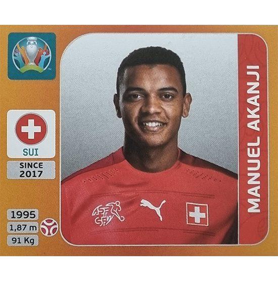 Panini EURO 2020 Sticker Nr 047 Manuel Akanji