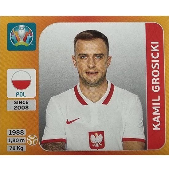 Panini EURO 2020 Sticker Nr 470 Kamil Grosicki