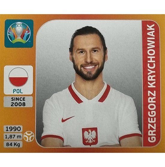 Panini EURO 2020 Sticker Nr 473 Grzegorz Krychowiak