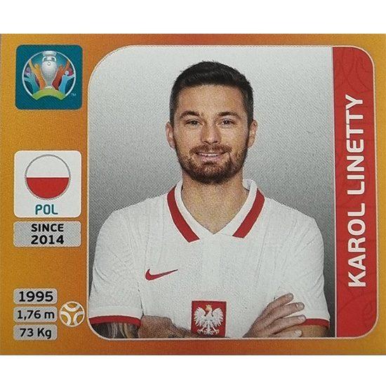 Panini EURO 2020 Sticker Nr 474 Karol Linetty