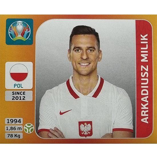 Panini EURO 2020 Sticker Nr 478 Arkadiusz Milik