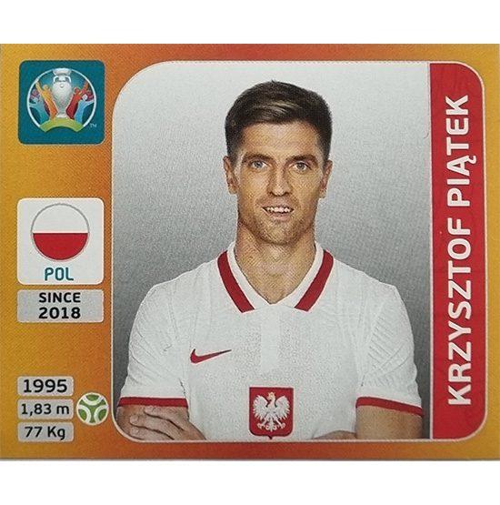 Panini EURO 2020 Sticker Nr 479 Krzysztof Piatek