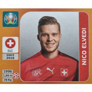 Panini EURO 2020 Sticker Nr 048 Nico Elvedi